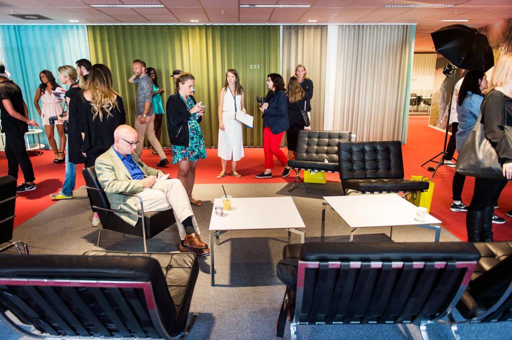 """Peter Kadhammar är på sin första presskonferens för tv-programmet """"Paradise Hotel"""". Foto: Ola Axman"""
