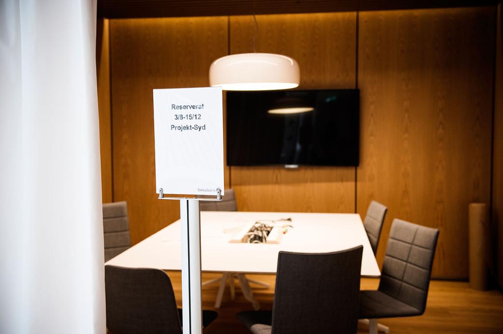 De finns flera mötesrum tillgängliga. Foto: Ola Axman