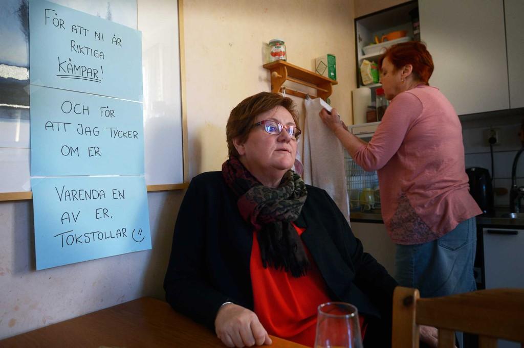 Karin Jansson, chef på individ- och omsorgsförvaltningen på socialkontoret, är en av de som sagt upp sig. Foto: URBAN ANDERSSON